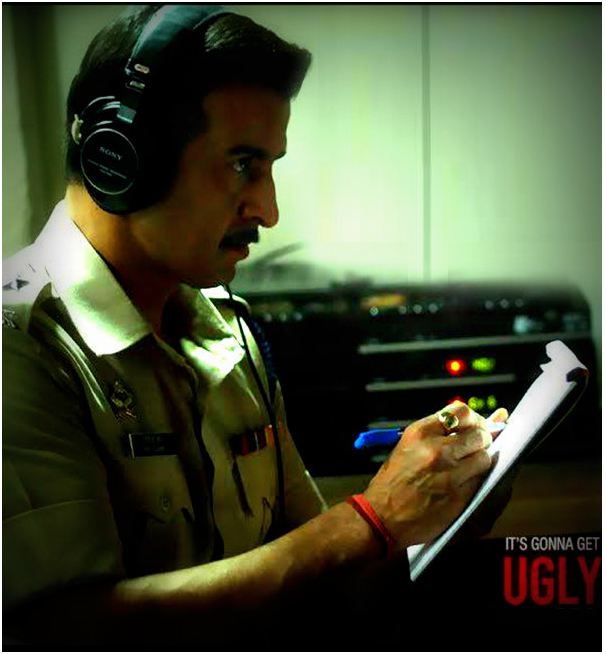Rohit Roy in Ugly Bollywood Movie