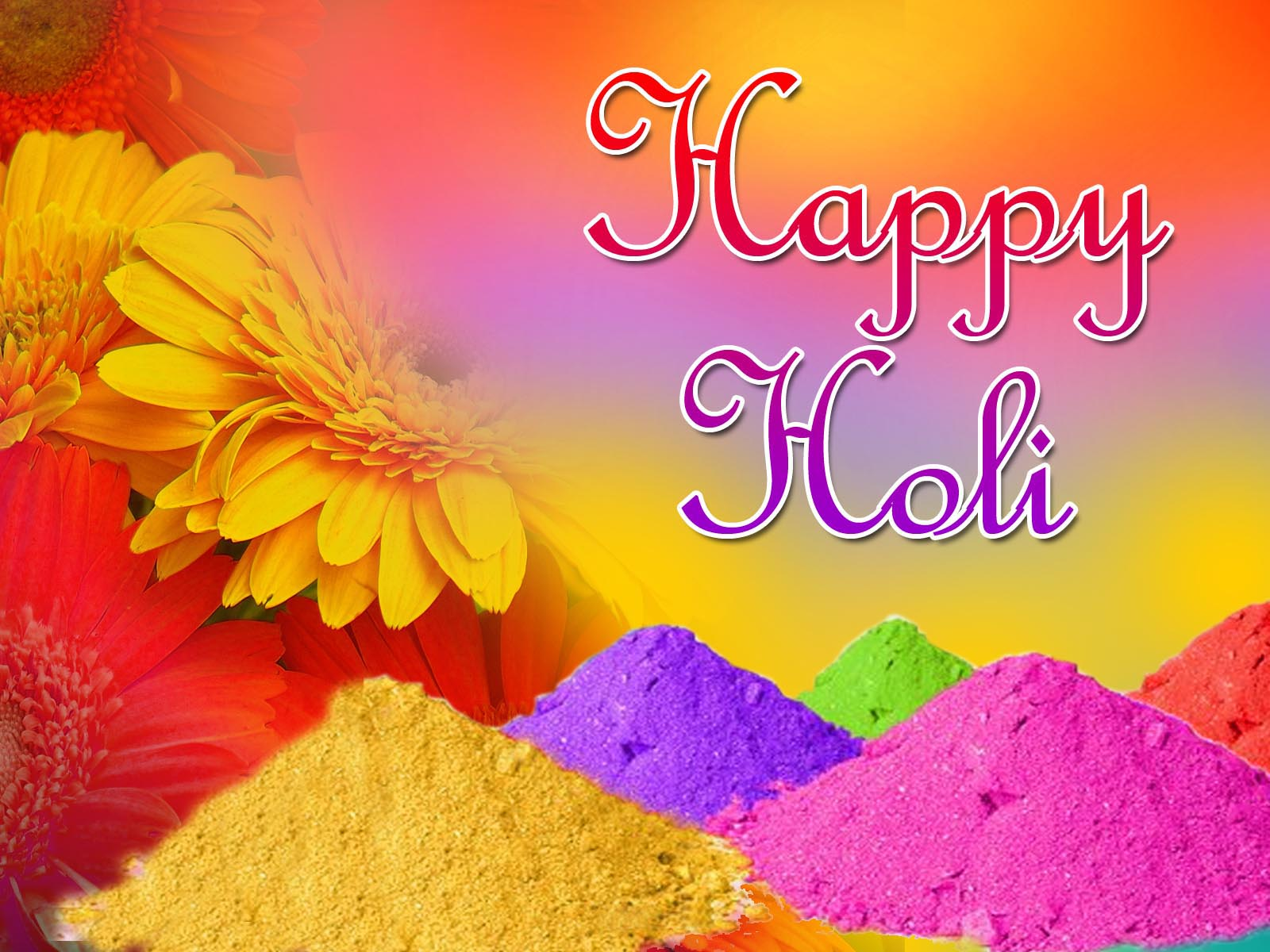Happy Holi 2016 - Colorful HD wallpapers