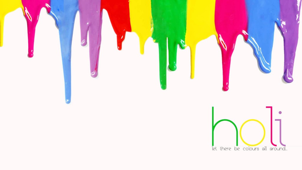 Happy Holi Colourful HD Wallpapers