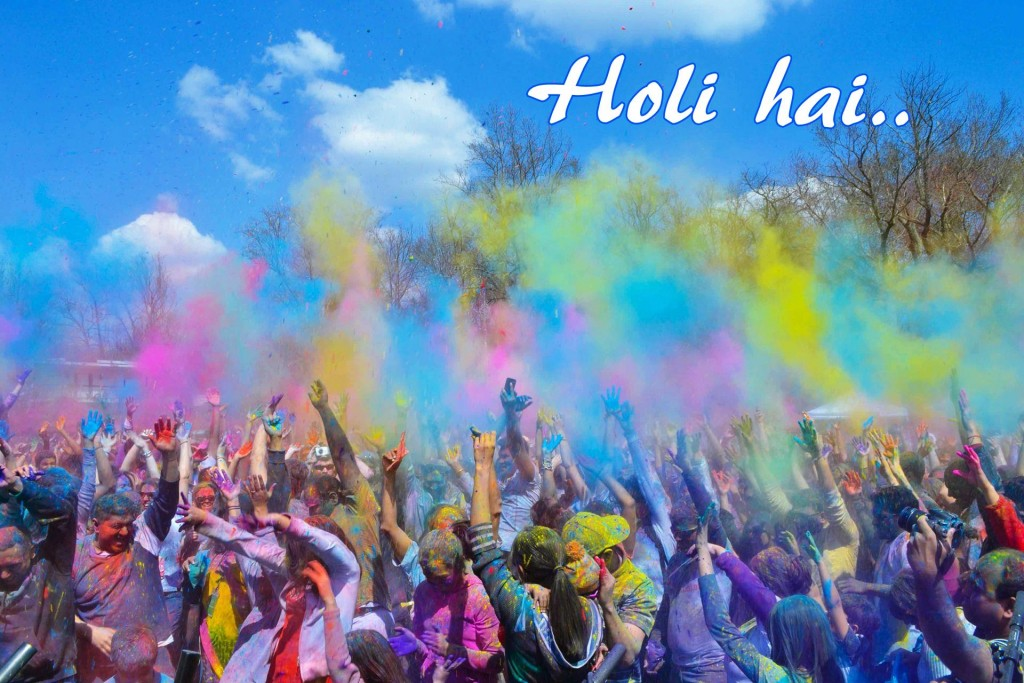 Holi Ha Celebration Wallpaper
