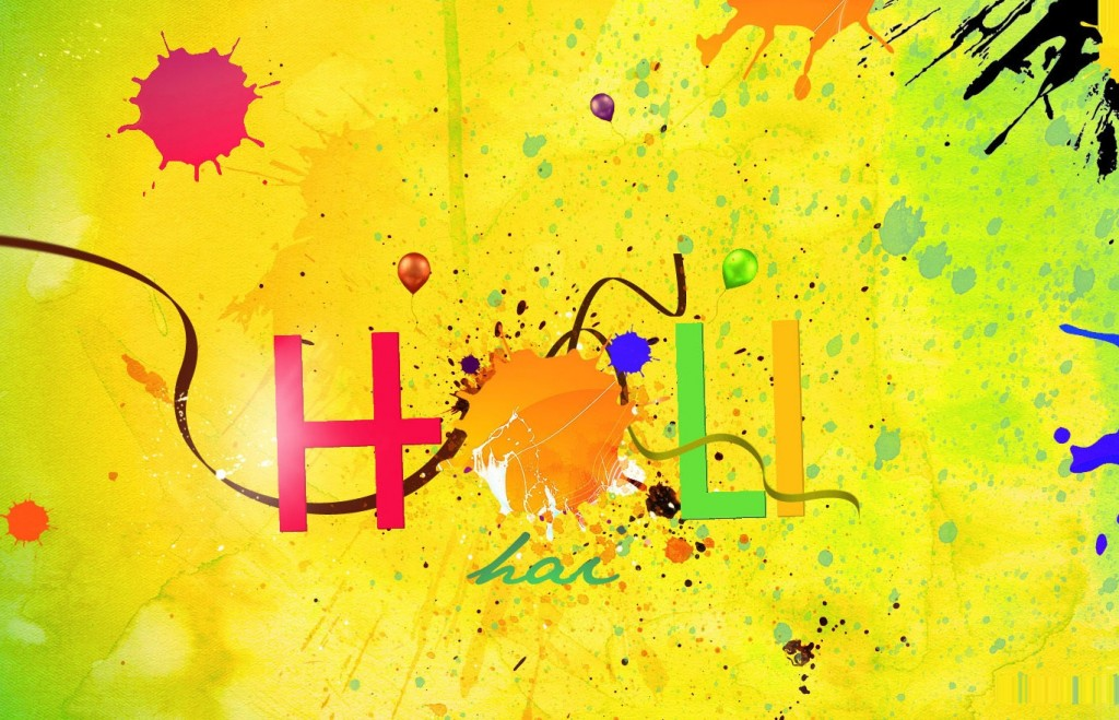 Holi Beautiful HD Wallpaper 2016 Download