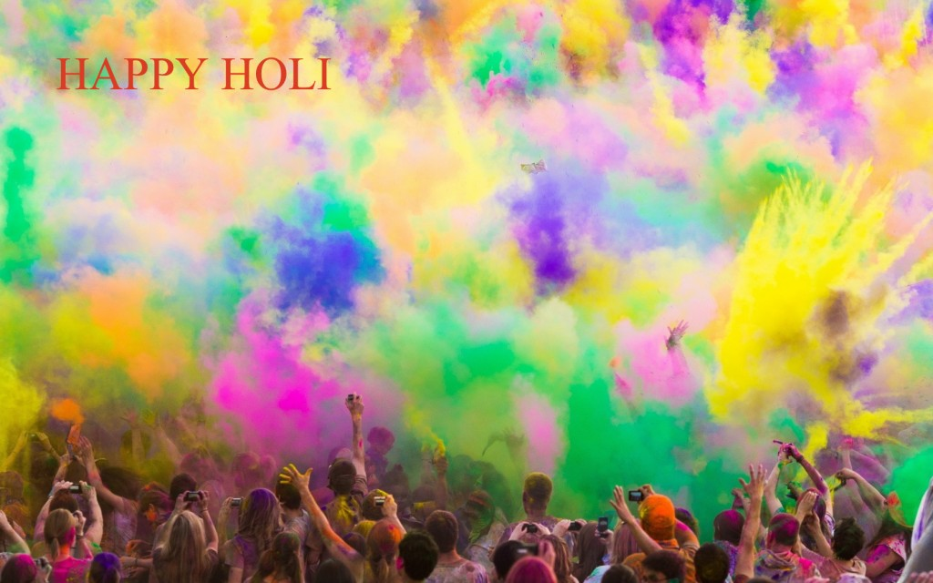 Holi Colorful HD Wallpaper Download