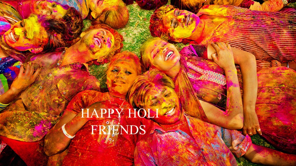 Holi Colorful Wallpaper & Photography