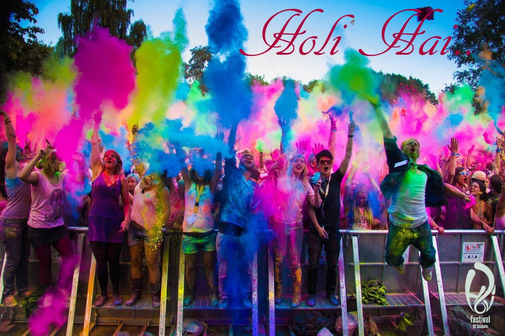 Holi Hai Colorful HD Wallpaper