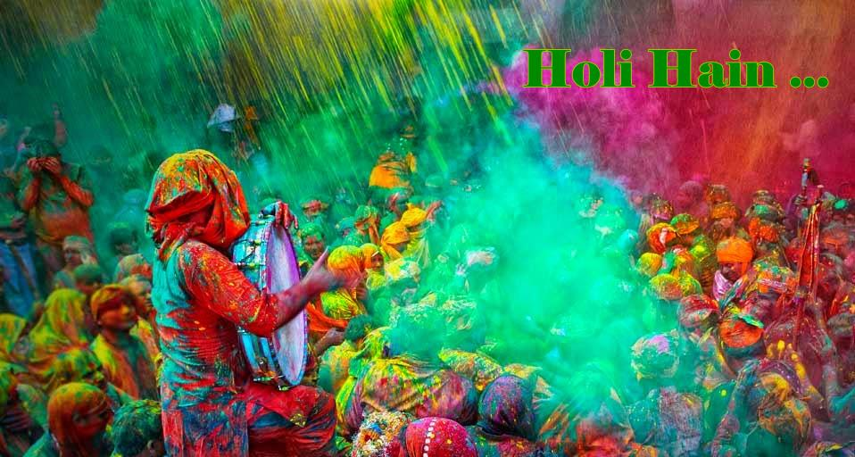 Holi hain Celebration Wallpaper Download