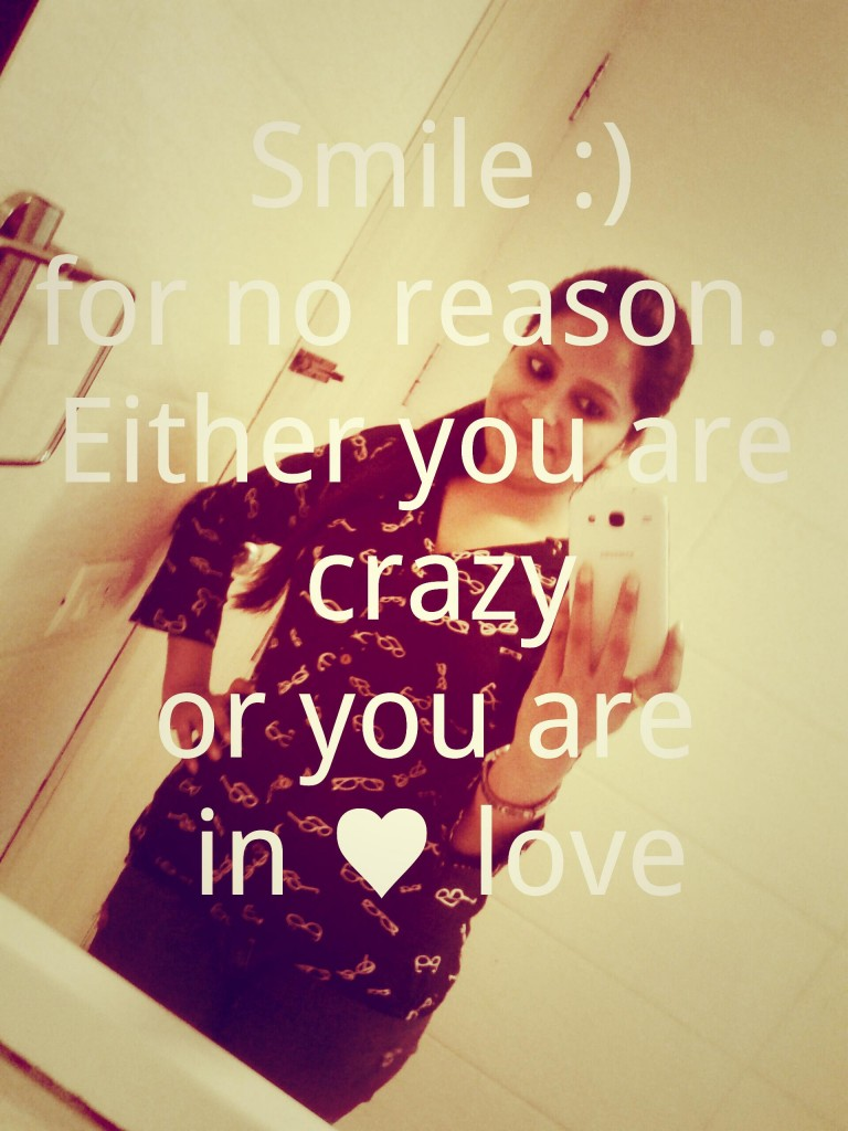 SMile in love quotes