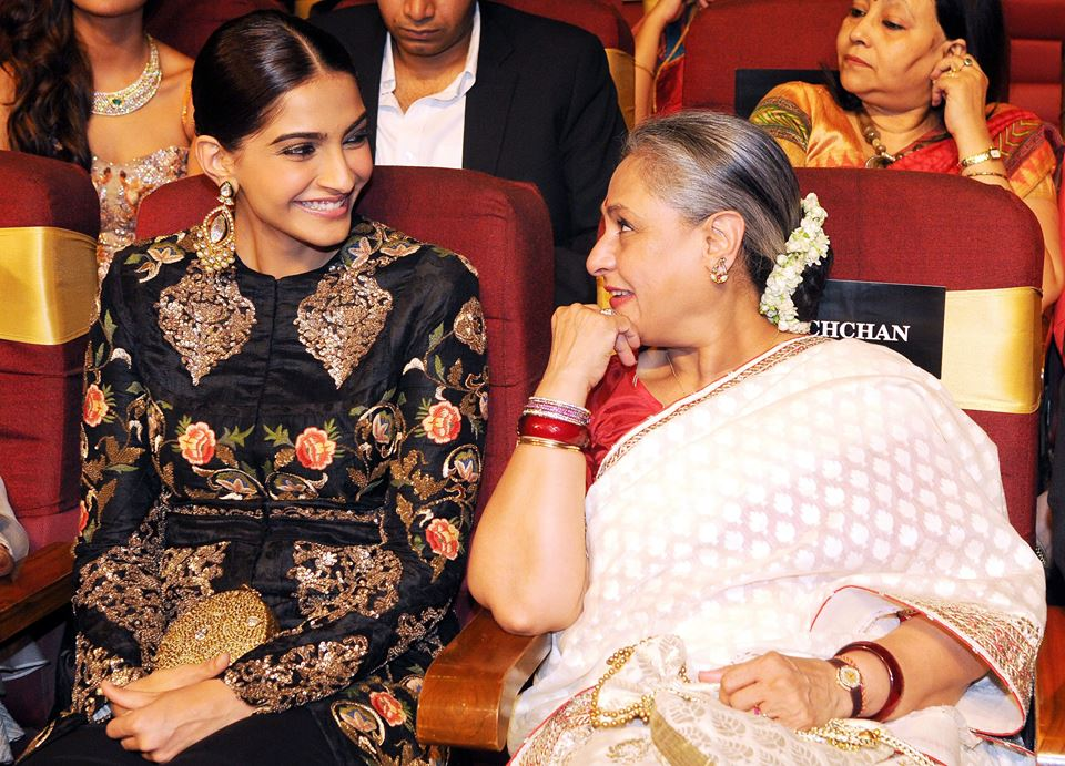 Sonam In Award Functions