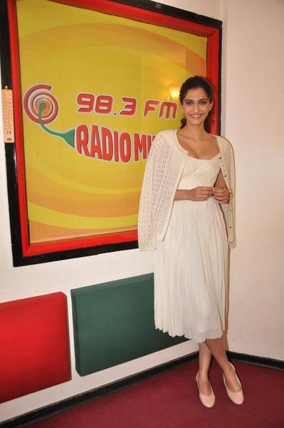 Sonam Kapoor During Promotions