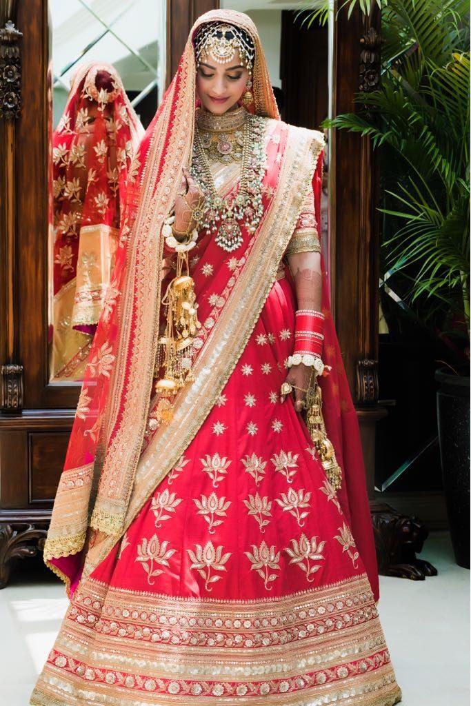 Her Wedding Look