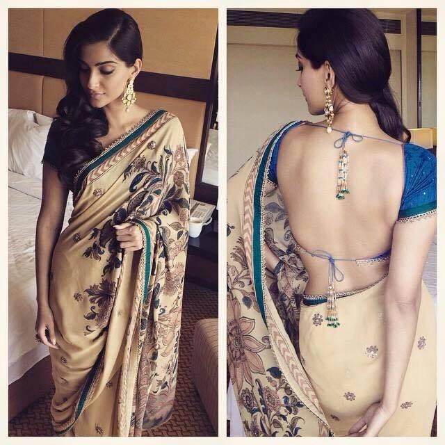 Sonam Kapoor In Saree - Designer