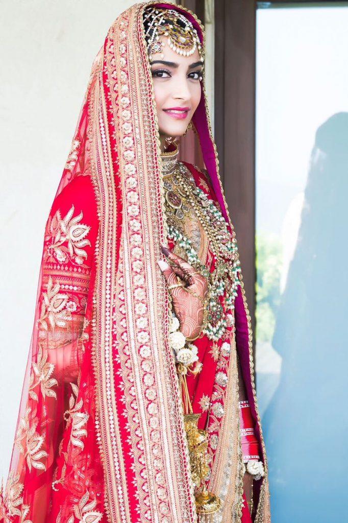 Sonam Kapoor Wedding Look