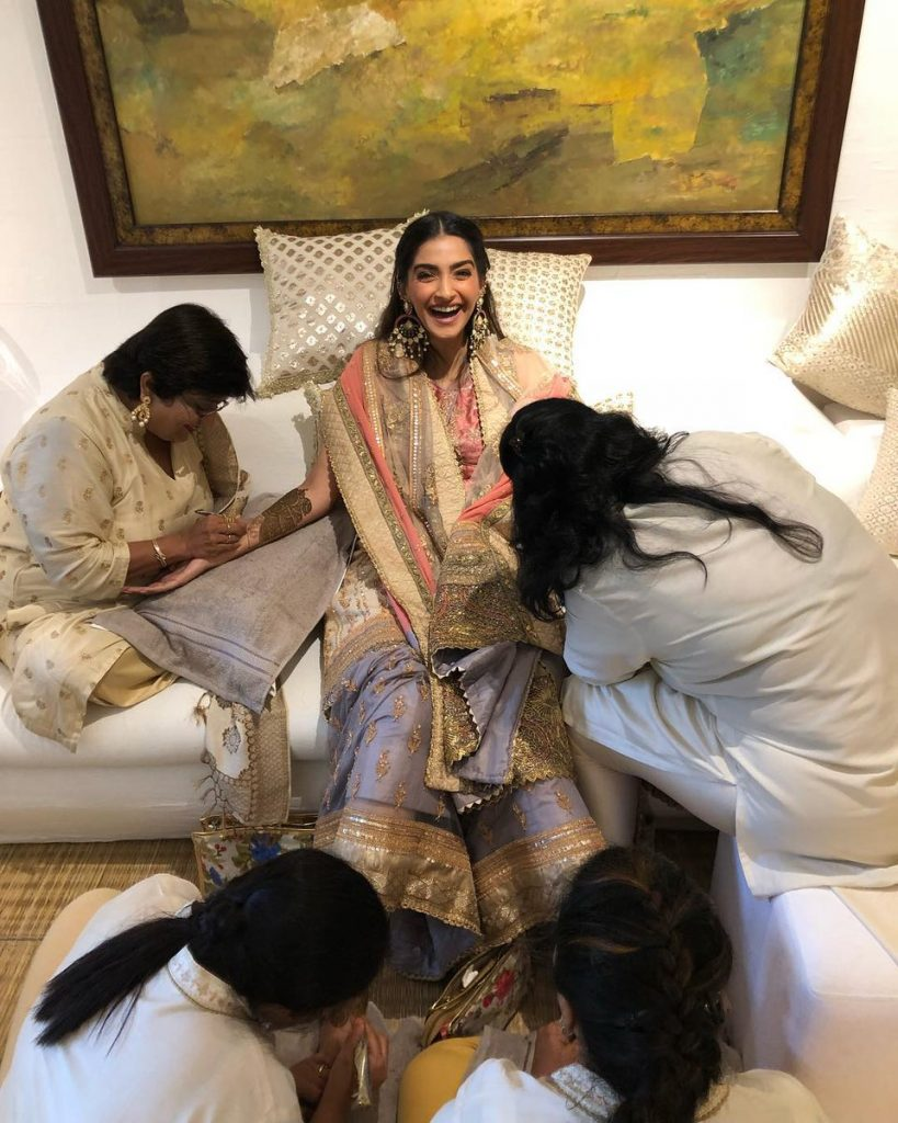 Sonam Kapoor Wedding Look
