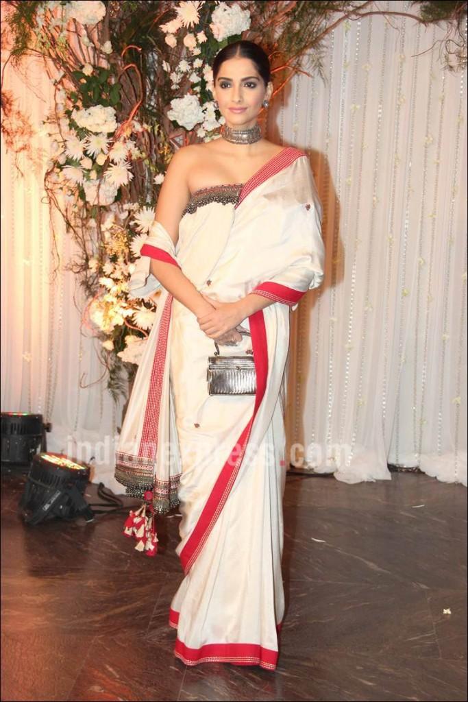 Sonam Kapoor in Saree, Sonam Saree Styles