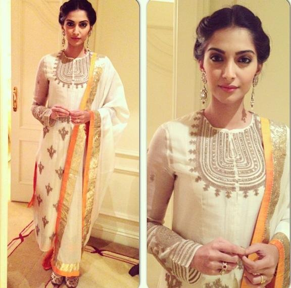 sonam-kapoor-anamika-khanna-Dress-promotions