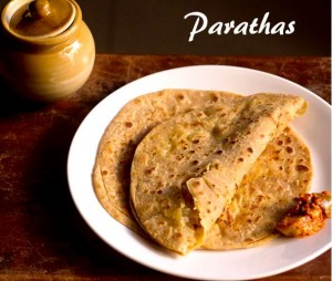 Breakfast - Parathas