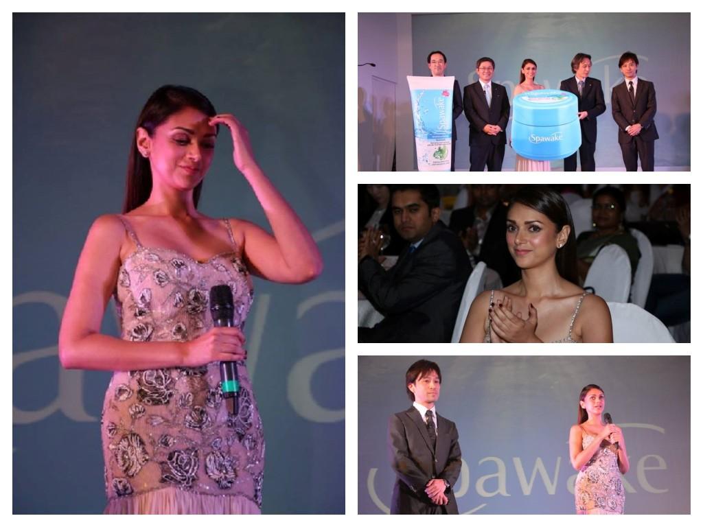 Aditi Rao latest Pic with Kose Spawake Launch