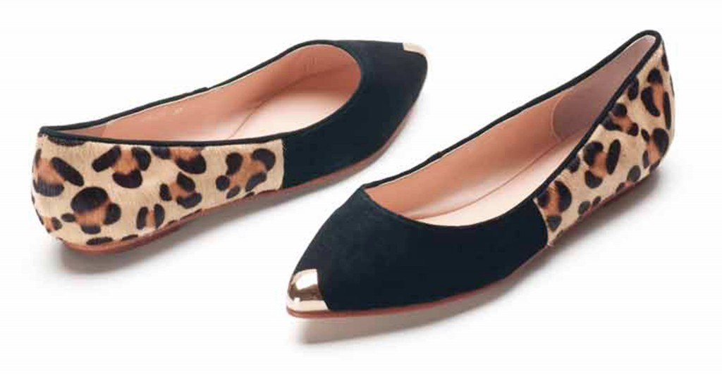 Animal print flat belly - Heel and Buckle