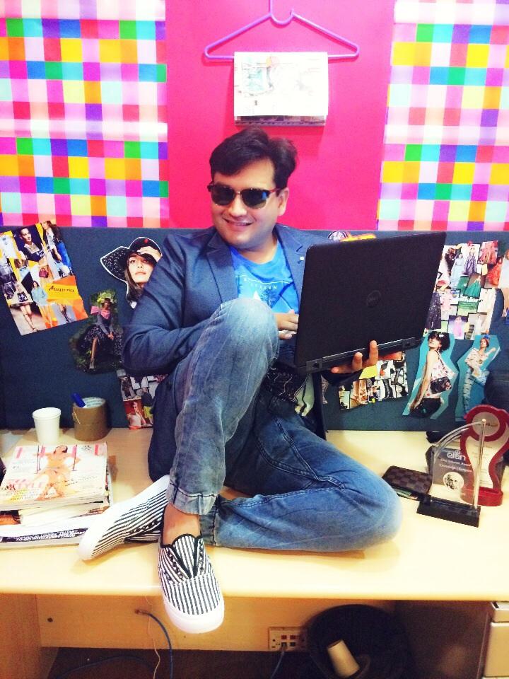 Anuj Lalwani At work Jabong