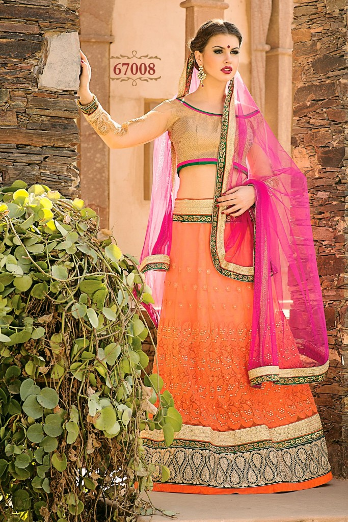 Colorful Latest Lehnga collection 2015