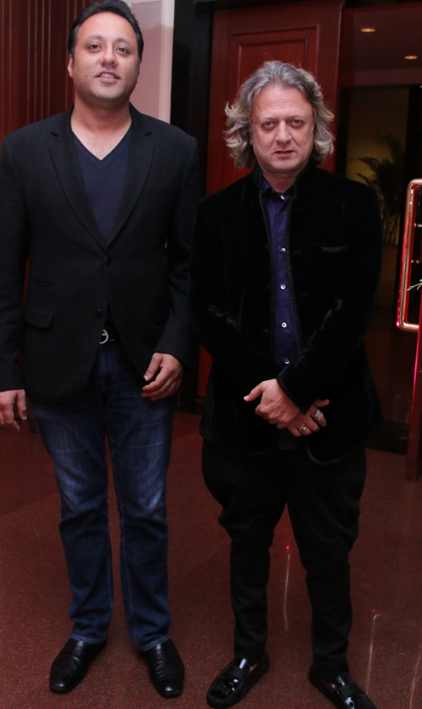 Designer Varun Bahll and Rohit Bal at Sunar Launch