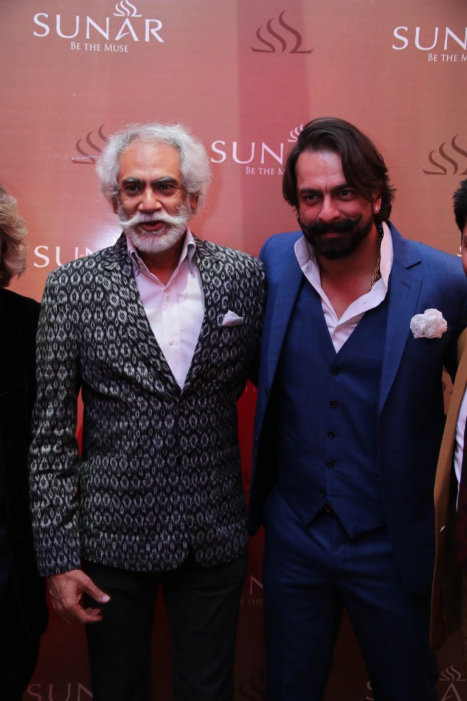 FDCI President Sunil Sethi and Actor Jas Arora at Sunar Launch