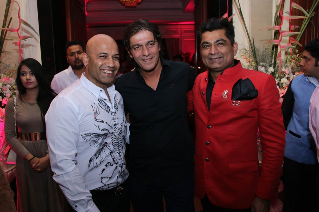 Honey Katyal, Chunky Pandey and Pawan Chawla