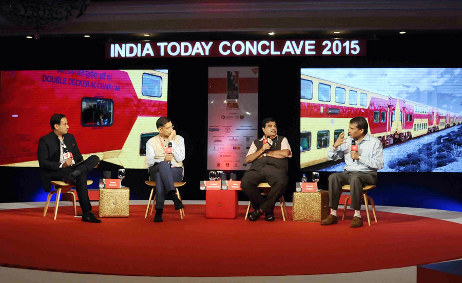 India Today Conclave Session The Economics of Politics, Bringing the Country back on Track
