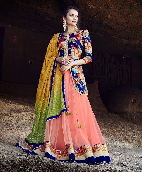 Latest Lahenga Choli Designs by Triveni