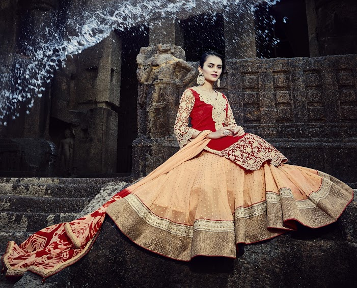 Latest Triveni Lahenga Choli Collection Images