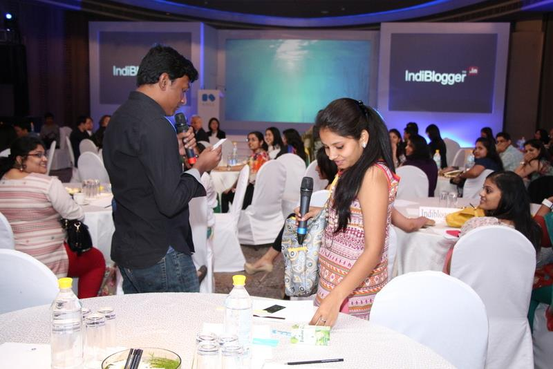 Me Yogita at Kose Launch, Indiblogger