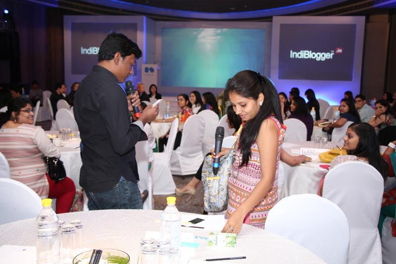 Me Yogita at Kose Launch, Indiblogger