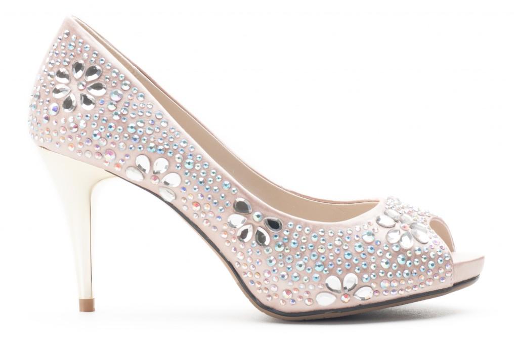 Bridal Heel Peep Toes