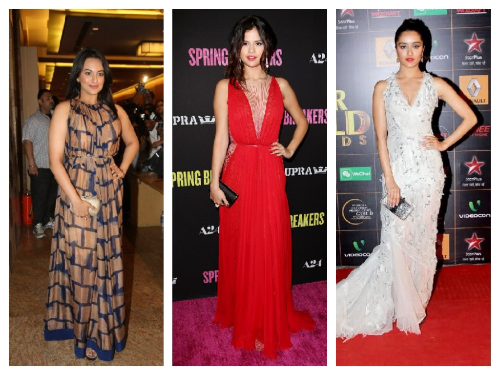 Bollywood Celebs in maxi Dress