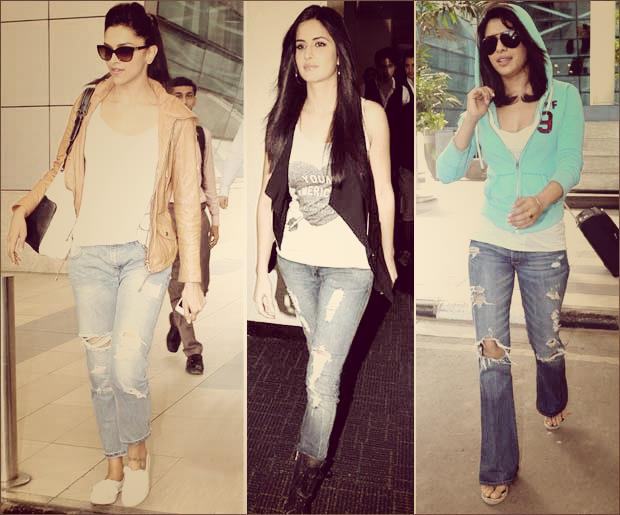 Bollywood Star Loving Ripped Jeans