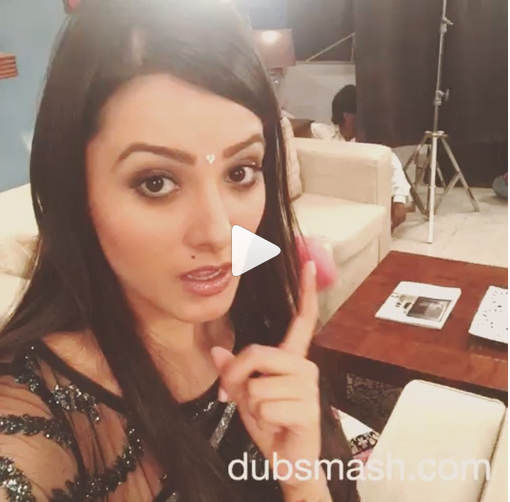 Dubsmash Video Anita H Reddy Tv Actress