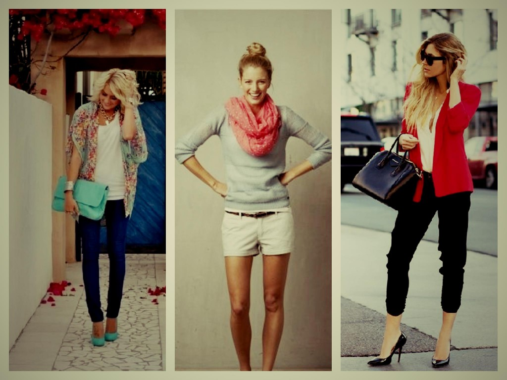 Use Scarves, Shrugs and Jackets to look Trendy
