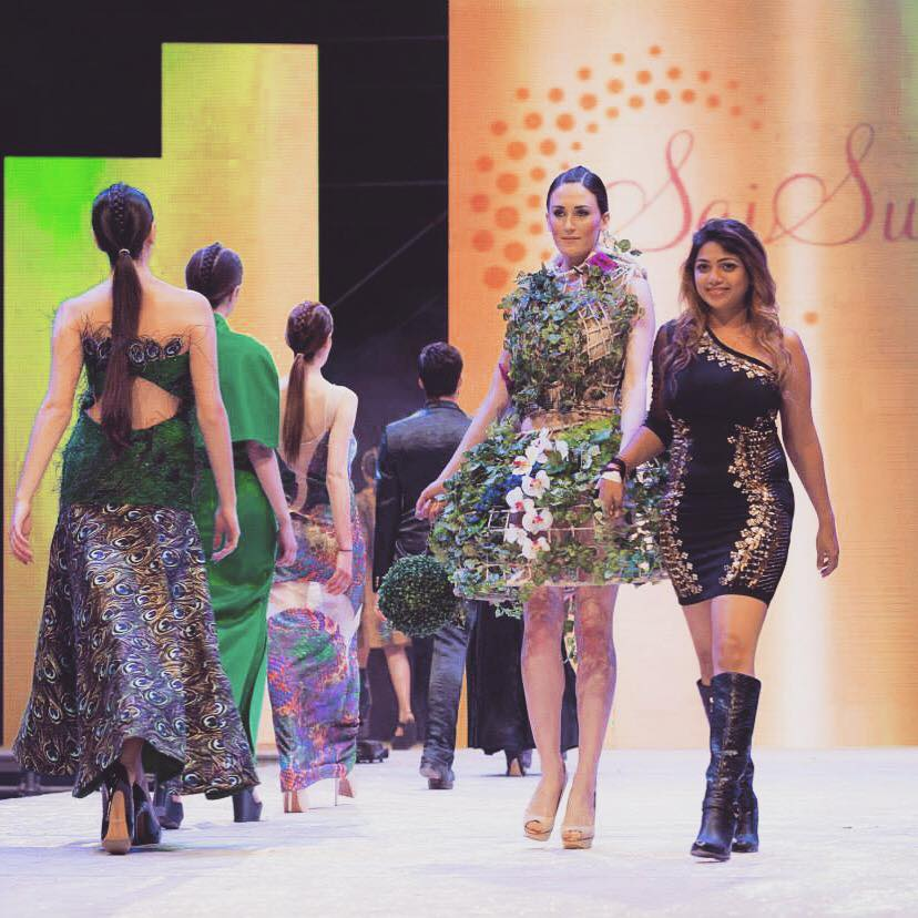Designer Sai Suman Khanna Mercedes Benz Fashion Week 2015