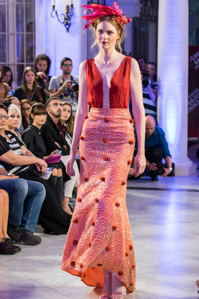 Sai Suman Collection Mercedes Benz Fashion Week 2015 Gown