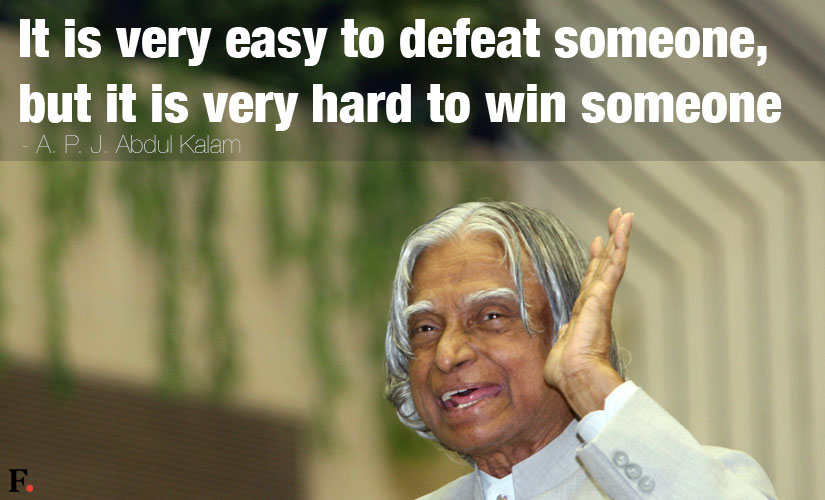 life changing quotes sayings lessons by apj abdul kalam