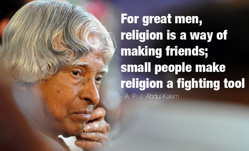 APJ Abdul Kalam Quotes on Religion