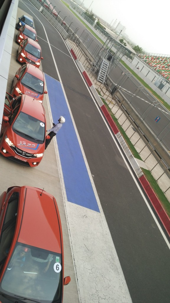 Honda Jazz Test Drive at F1 track