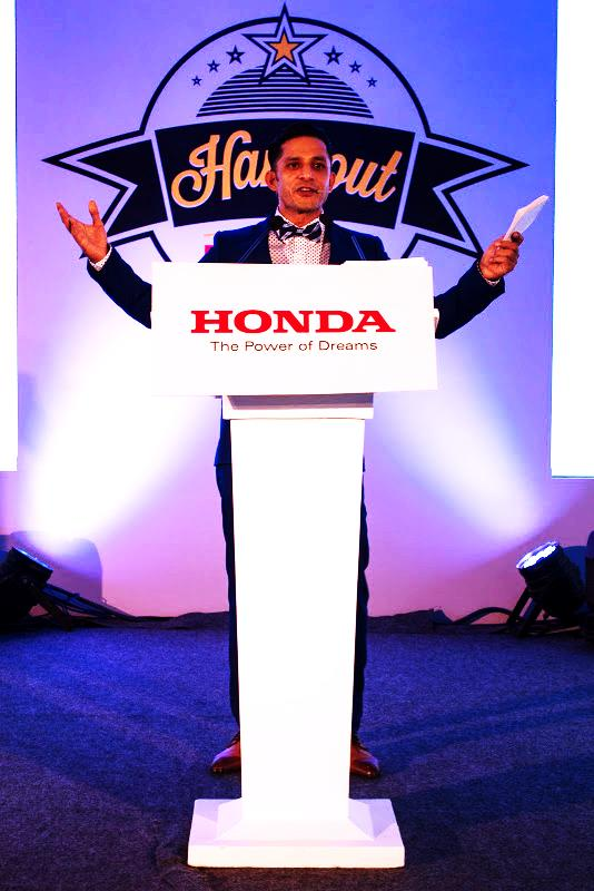 MTV VJ Yudi at Hongout with Honda Event Delhi