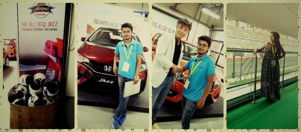 Shivam Letuspublish Team at Honda Jazz Launch Delhi