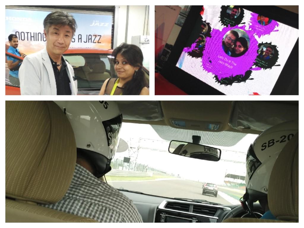 Yogita Aggarwal, Lifestyle blogger with Honda India CEO