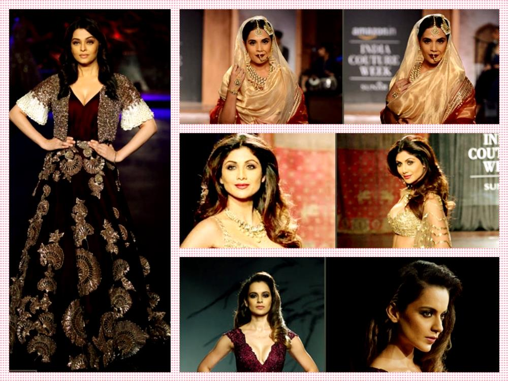 Amazon India fashion week 2015 Wedding Collection