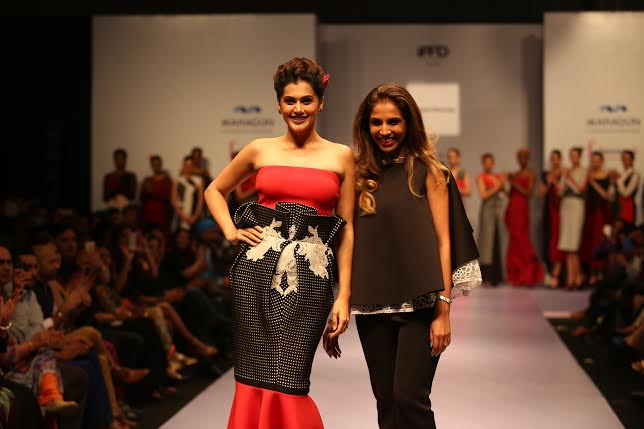 India Runway Week 2015 , Taapsee pannu