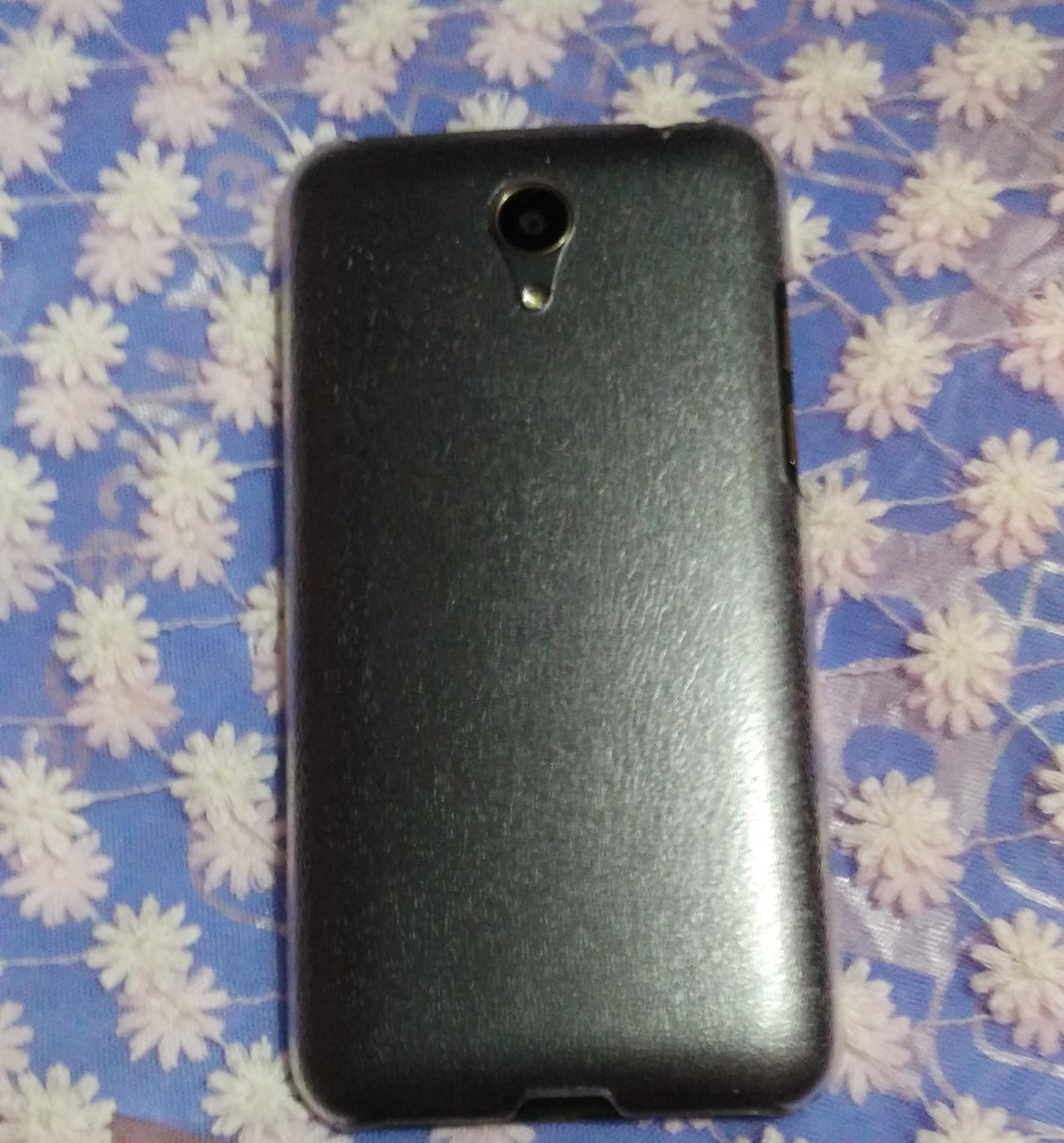 Intex Cloud 4 G Star Backside Look with backcover