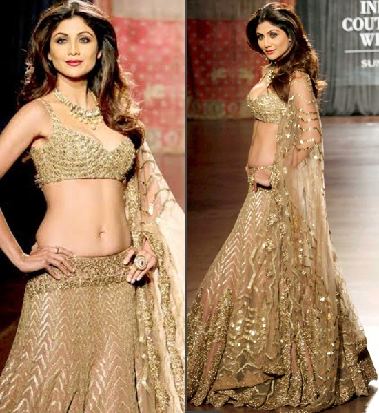 Shilpa Shetty for Rimple and Harpreet Narula
