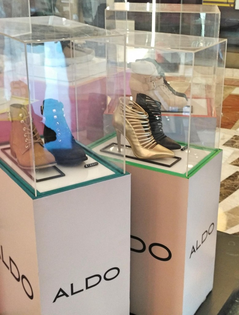 Aldo 2 at Shoes and Bag Festival