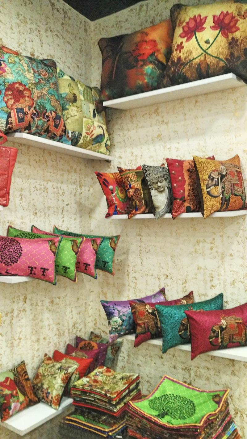 Desi Pop Cusions and Home furnishings